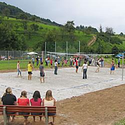Uebersichtsbild Beachvolleyballplatz